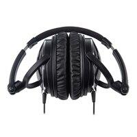 Active Noise Cancelling Casque Haute Performance Sur L'oreille Pliable HD Casque Réduire 85% Bruit Ambiant Avec Compagnie Aérienne Adaptateur