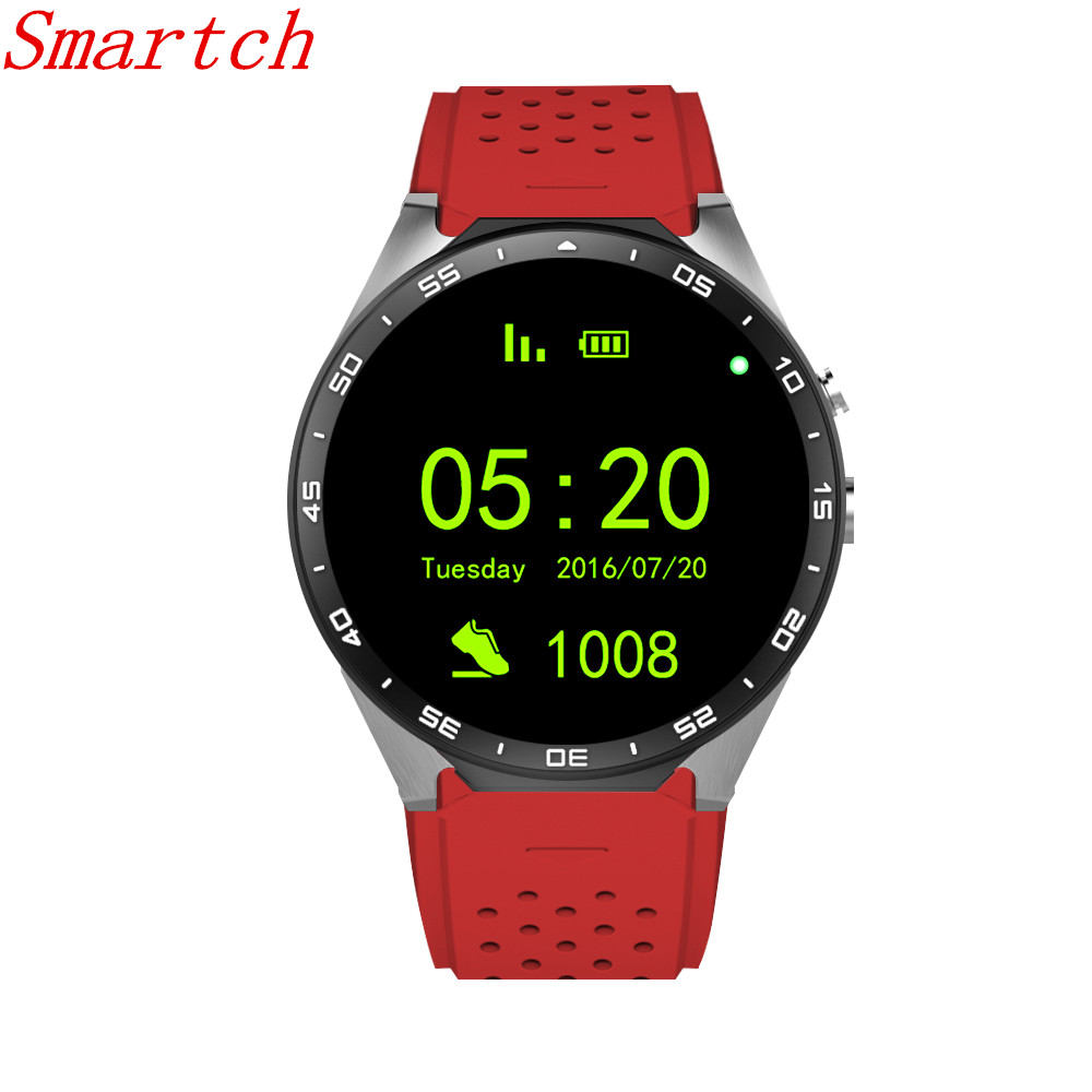 Smartch kw88 Android 5.1 Smart Watch 512MB + 4GB Bluetooth 4.0 WIFI 3G Smartwatch Phone Wristwatch Support Google Voice GPS Map стоимость