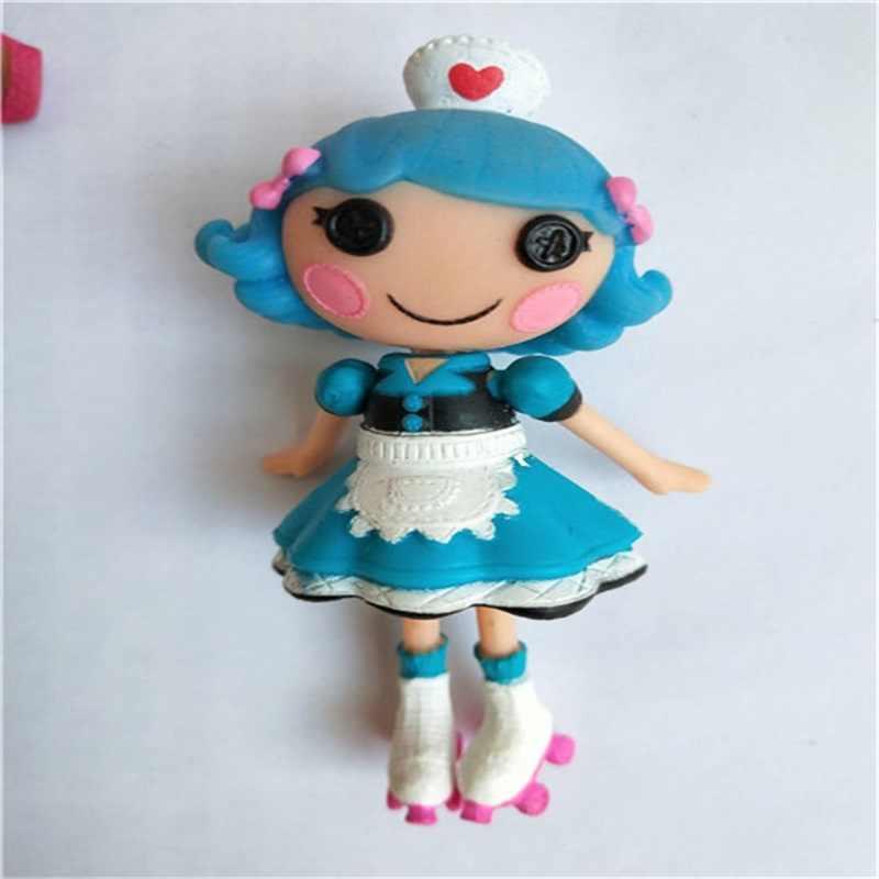 Grosir Boneka Lalaloopsy Aksesoris Mini Boneka untuk Gadis Mainan Bermain Rumah Setiap Unik