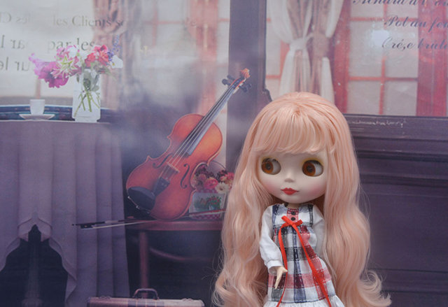 Factory Blyth Doll BJD, Neo Blyth Doll Nude Customized Matte Face Dolls Can Changed Makeup and Dress DIY, 1/6 Ball Jointed Dolls 5