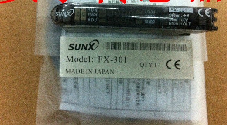 все цены на FX-301P SUNX Amplifier fx301p fibe sensor amplifier NIB онлайн