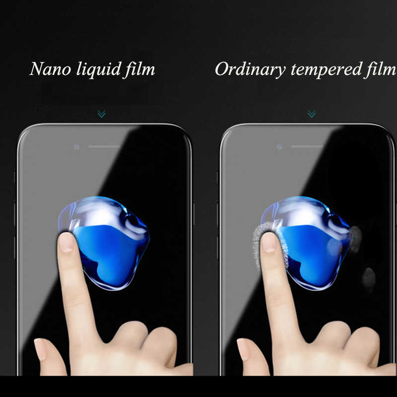 9H Nano Vloeibare 3Ml Screen Protector Voor Alle Telefoon Huawei Iphone Samsung Xiaomi Moto Sony Ultra-Dunne high Definition Scherm Film