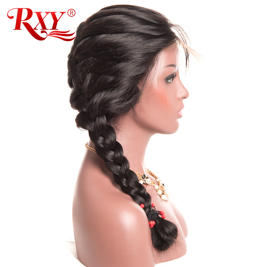 RXY Lace Front Human Hair Wigs For Black Women Pre Plucked Full Lace Human Hair Wigs With Baby Hair Brazilian Body Wave Non Remy (1)
