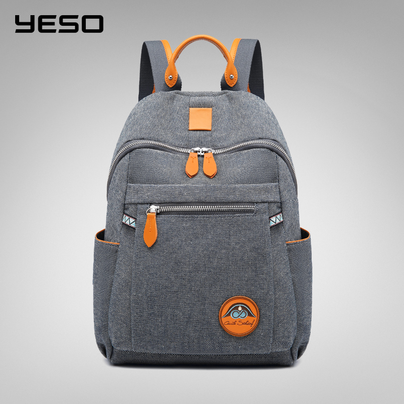YESO 2019 New Fashion Women Backpack Female Ladies High Quality School bag Multifunction Oxford Bags for
