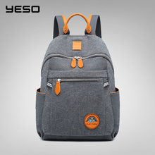 YESO 2019 New  Fashion Women Backpack Female Ladies  High Quality  School bag Multifunction Oxford Bags for Men  Earphone Bag