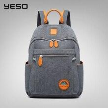 YESO 2019 Новый Модный женский рюкзак, женская школьная сумка высокого качества, многофункциональные сумки оксфорды для мужчин, сумка для наушников