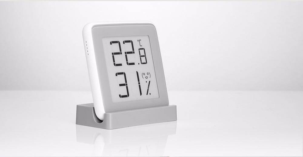 Xiaomi MiaoMiaoCe E-Link INK Screen Display Digital Moisture Meter High-Precision Thermometer Temperature Humidity Sensor H10 (11)