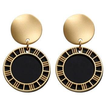 Geometric Shell Earrings For Women Earrings Jewelry Women Jewelry Metal Color: FCS177121