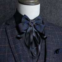 Men's Europe and the United States fashion new bow tieTrend wedding dress ribbon bow tie