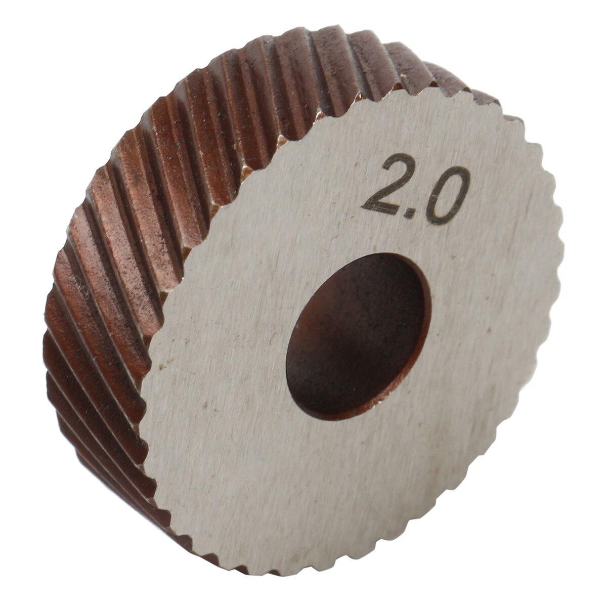 26mm Knurling Tool Steel Dia Dual/Single Wheels Linear Pitch Knurl Set Lathe Cutter Machine Tools 0.6mm-3.0mm