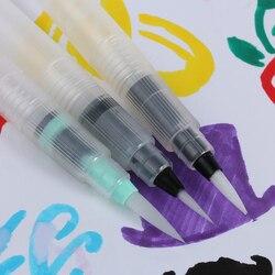 3 шт. пилот чернильная ручка для водяная кисть Акварельная каллиграфия Рисование инструмент для живописи нейлоновый наконечник с многоразо...