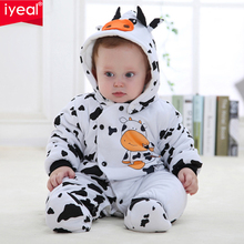 IYEAL Newborn Baby Girl Boy Winter Clothes Rompers Cotton