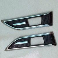 Car Styling ABS Chrome Trim Signal Lamp Cover Light Side Emblem Decoration Trim For Chevrolet Cruze