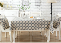 2016 New Arrival Japanese Minimalist Theatrical Cotton Cloth Tablecloths Coffee Table Computer Desk Table Cloth Cover