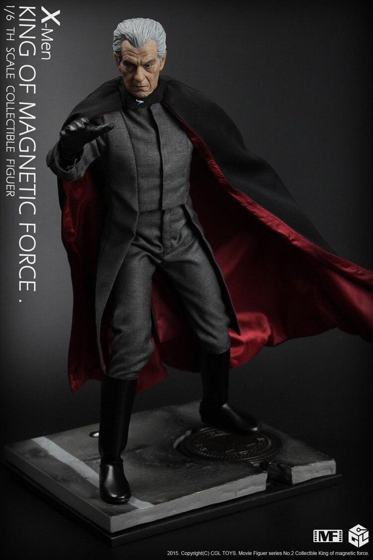 1/6 scale Collectible Figure doll Max Eisenhardt X-Men Magneto Ian McKellen 12 action figure doll Plastic Model Toys