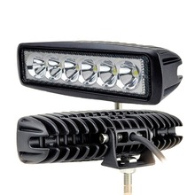 FREE SHIPPING! 6INCH 18W MINI LED WORK LIGHT BAR FLOOD FOR OFF ROAD 4×4 TRUCK ATV LED DRIVING LIGHT BAR SAVED ON 36W/72W
