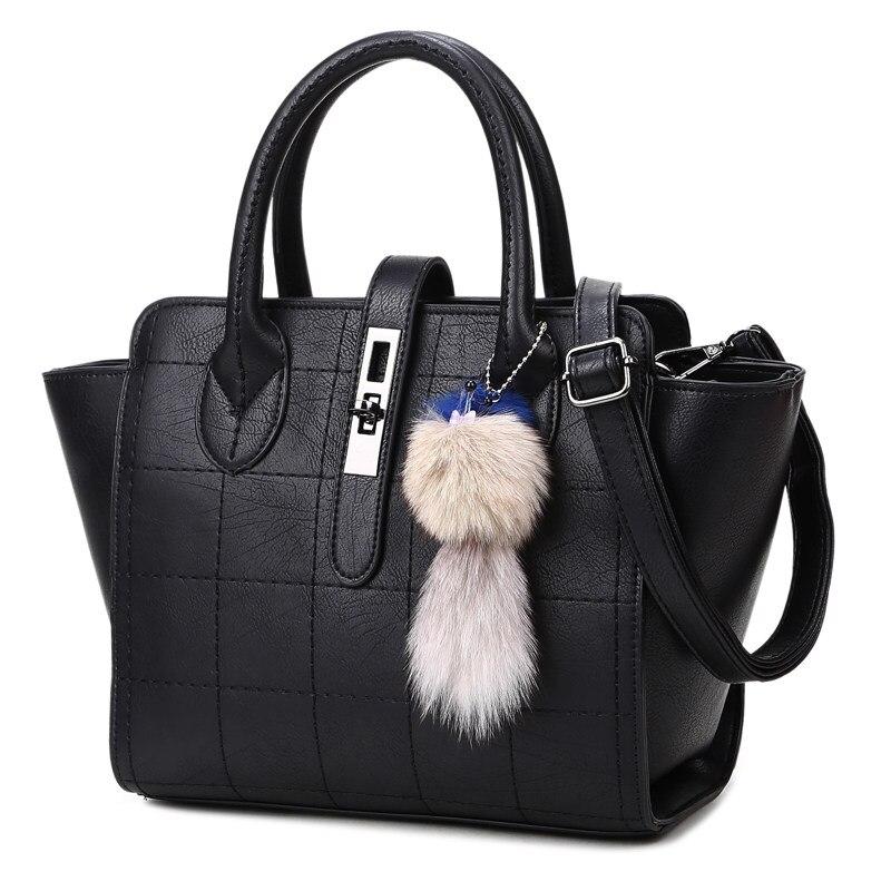 Trendy Plaid Large Bag Korean Style Fashionable Women Shoulder Bag Classic Thread Ladies Classy font b
