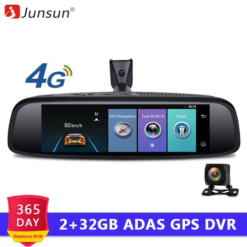"Junsun 2+32G Car Special Mirror DVR Camera 4G Android 7.86"" ADAS Bluetooth Full HD 1080P Video Recorder dash cam Rearview Mirror"