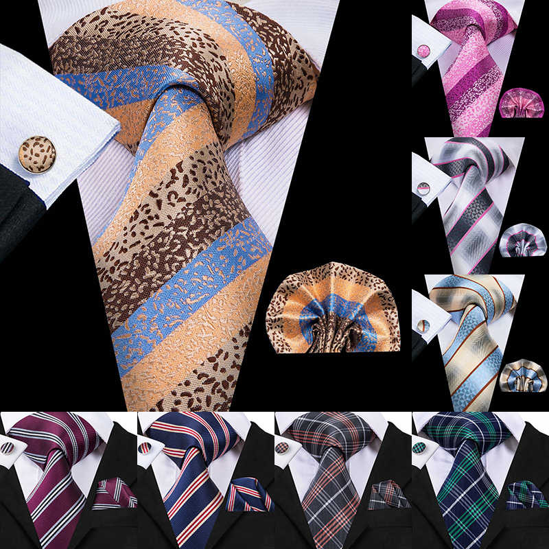 940b32dcf5d8 Detail Feedback Questions about 50 Styles Silk Mens Ties Wedding Party  Business Luxury Cufflinks Tie Set Paisley Plaid Striped Blue Red Green  Handmade ...