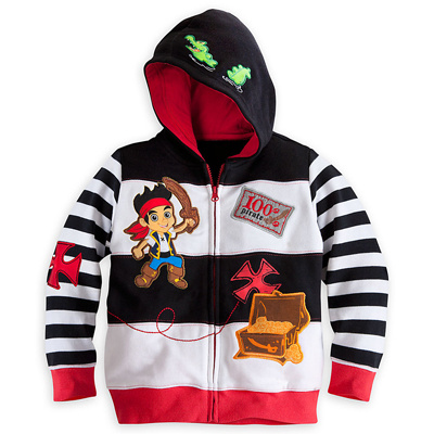 Chaqueta de niño de 2018 Jake and the Neverland Pirates / Monster University / TOY3 boy boys Capa con capucha top outwear chándales