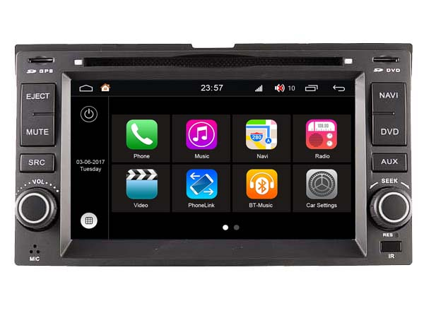 S190 Android 7 1 font b CAR b font DVD player FOR KIA PICANTO MORNING EURO