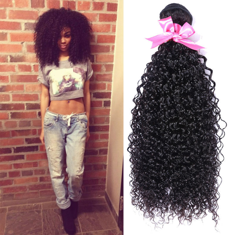 Eurasian Curly Hair 4 Bundles Afro Kinky Curly Hair 7a Unprocessed Human Hair Bundle Deals Eurasian Kinky Curly Virgin Hair