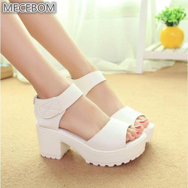9613306525fb 2018 New Summer Pep toe Woman Sandals