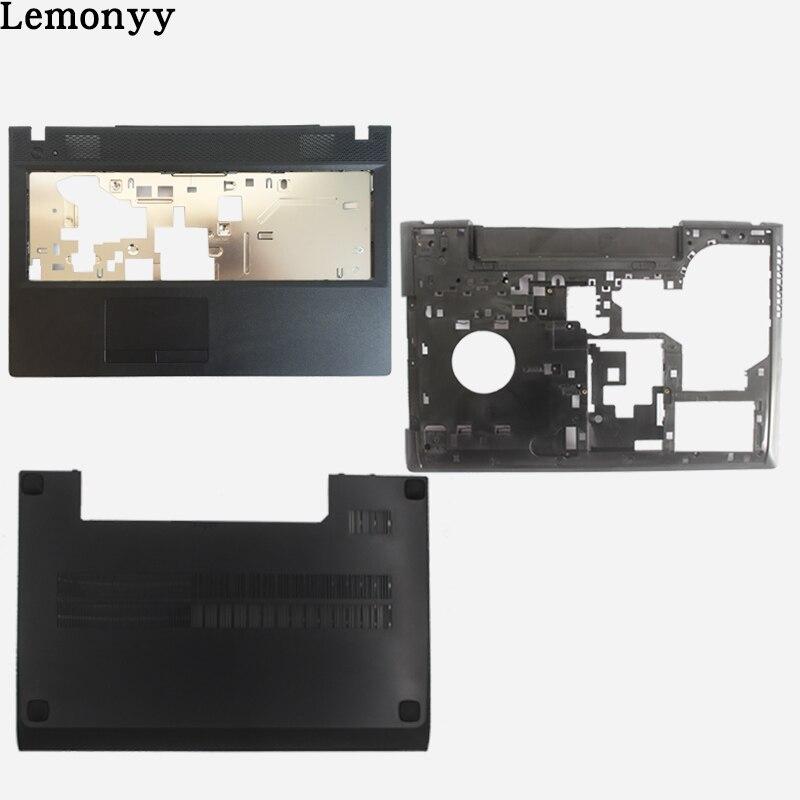 NEUE Für Lenovo G500 G505 G510 G590 Laptop Vorder Abdeckung Palmrest ABDECKUNG/Bottom Fall Basis Abdeckung/laptop fall zurück abdeckung schwarz