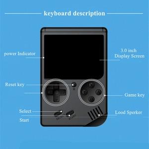 Image 2 - Coolbaby רטרו נייד מיני כף יד משחק נגן קונסולת 8 Bit 3 אינץ צבע LCD ילדים צבע משחק נגן מובנה 168 משחקי וידאו