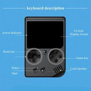 Image 2 - Coolbaby rétro Portable Mini Console de jeu de poche 8 Bit 3 pouces couleur LCD enfants couleur lecteur de jeu intégré 168 jeux vidéo