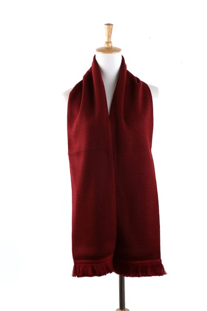 Мужская Женщины Мужская Вязаный Шарф Осень Зима Теплая Твердые Шарфы Écharpe Bufandas Классический Дизайн Одежды Cachecol Красный Черный Синий