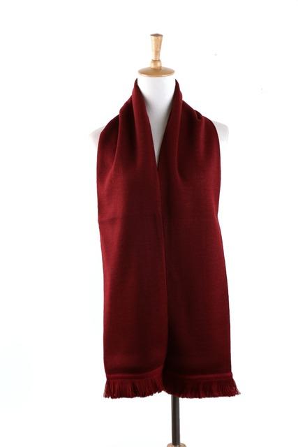 Mens Mulheres Unisex Malha Cachecol Cachecóis Bufandas Echarpe Outono Inverno Quente Sólida Clássico Design de Moda Cachecol Vermelho Preto Azul