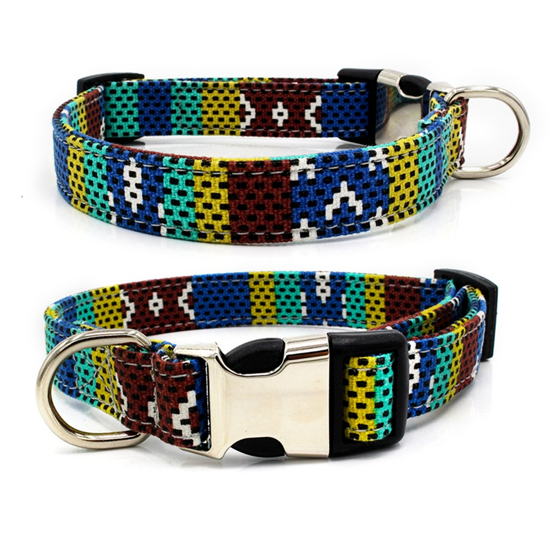439c0ff9b1b1 Dog Collar Nylon Pet Dog Tag Collar Custom Puppy Cat Nameplate ID Collars  Adjustable For Medium Large Dogs Safety Engraved