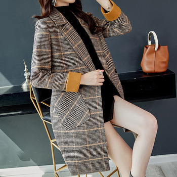 Office Work Long Coats Fashion 3