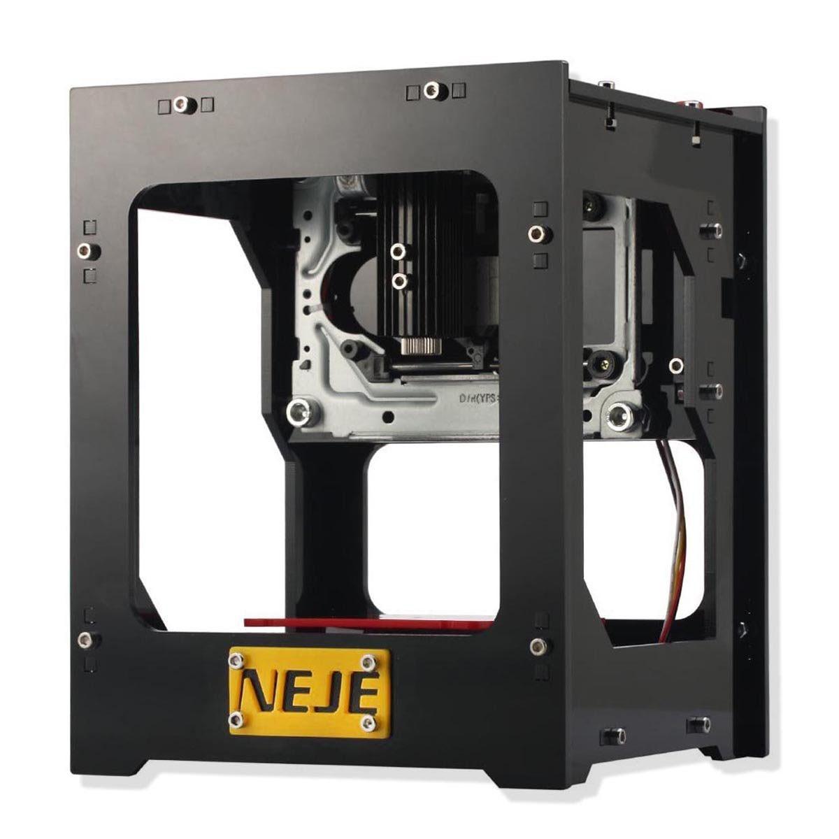 THGS NEJE DK-BL 405nm 1500mW DIY Engraver Printer Laser-Engraving Machine Bluetooth USB dk bl 1500mw mini diy laser engraving machine wireless bluetooth print