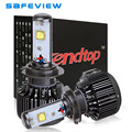 Super white LED auto lamp V16 H7 H4 H8 H9 H11 HB3 9005 HB4 9006 40W Xenon 6000K car motor Headlight light Bulb 4800LM Kits
