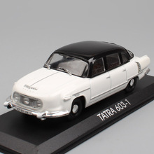 DeAgostini 1/43 Scale Classic Old Czech Czechoslovak Tatra 603 1956 luxury Metal cars diecast & models vehicle toys auto gifts
