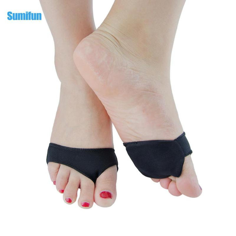 1pair Palm forefoot Protector Foot Care shoes Half Pad Hallux Valgus Orthosis Front Anti-Slip Pad Supplies Orthopedic C3