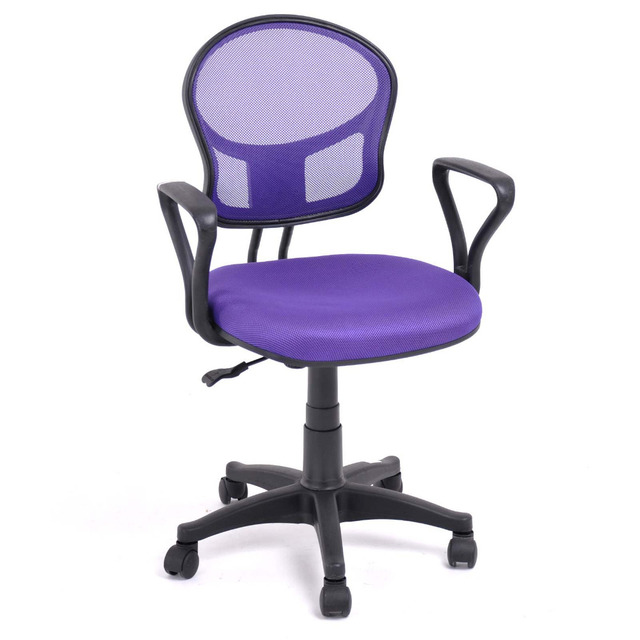 Aingoo Breathable Office/Computer Chair With Arms With Fabric Pads Seat  Height Adjustable 360 Degree