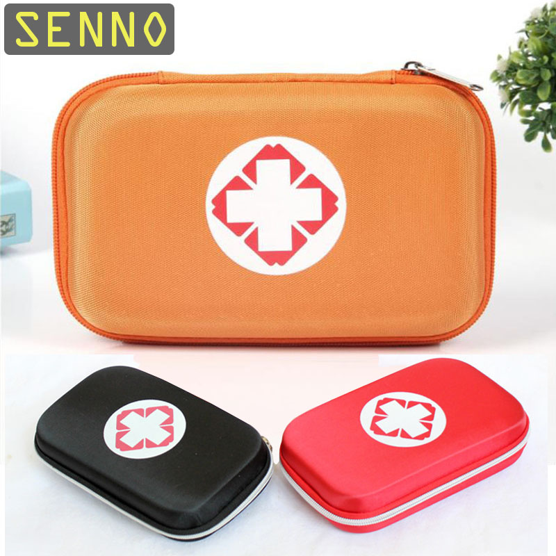 First Aid Kit Bag EVA Waterproof Person Portable Outdoor Travel Drug Pack Security Emergency Kits Medical Treatment Bag 4 Color