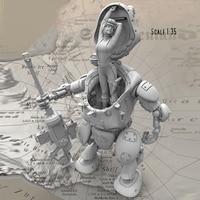 Hot sale high quality 1:35 Resin Figure Model Kit Unassambled Unpainted figures