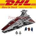 Lepin 05042 New Star War Series The Republic Fighting Cruiser Set Building Blocks Bricks Set  Educational Toys Clone 8039