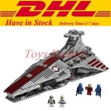 Lepin 05042 New Star Series Guerra A República Lutando Cruiser Set Conjunto de Blocos de Construção Tijolos Brinquedos Educativos Clone 8039