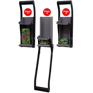 Image 2 - Bottle Opener Beer Tin Can Crusher With Grip Handle Wall Mounted Recycling Tool Environmentally Friendly Coke Bottle Flattening