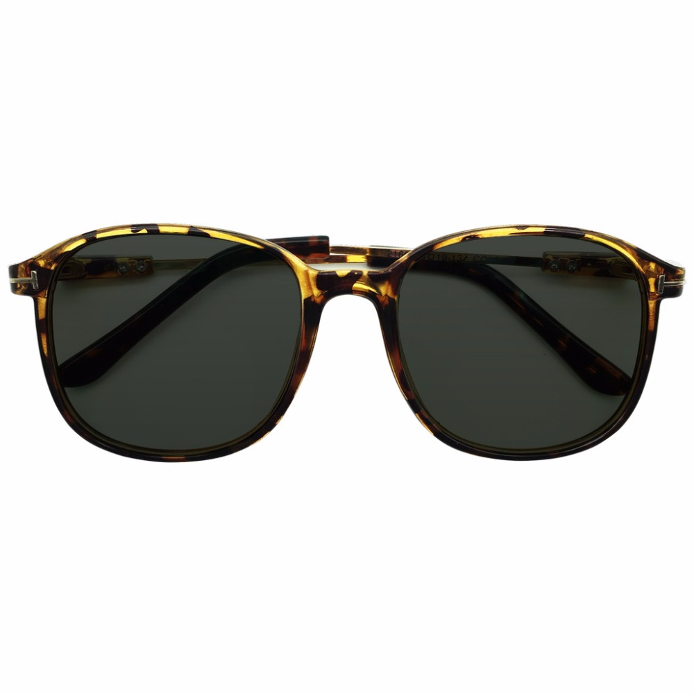 e2ebe293fe6 Tinted Green Polarized Oversize Frames Prescription Sunglasses Glasses Mens  Womens Tortoise Myopia 0.5 to 6.0 Shortsighted New-in Sunglasses from  Apparel ...