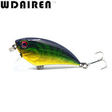 1pcs 5.5cm 6.6g Crank Fishing Lure Trolling Lure Fishing Tackle Wobbler Swimbait Crankbait Fishing Artificial Hard Bait ST-277
