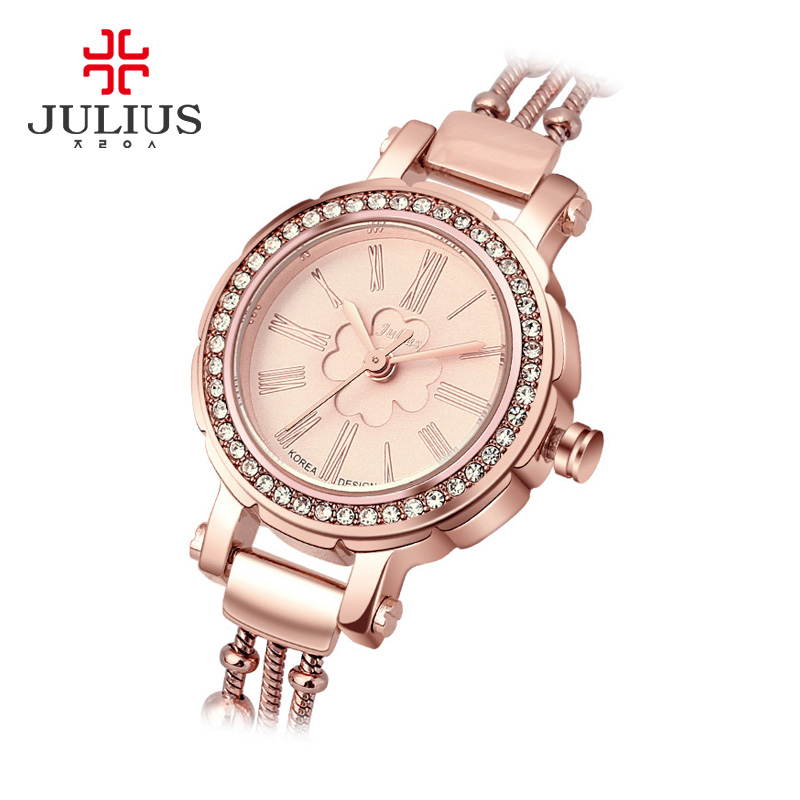 JULIUS Women Watches 2017 Brand Luxury Fashion Quartz Ladies Watch Clock Rose Gold Dress Casual Watch girl relogio feminino Gift women watches 2017 brand luxury fashion quartz ladies watch clock rose gold dress casual girl relogio feminino watches women