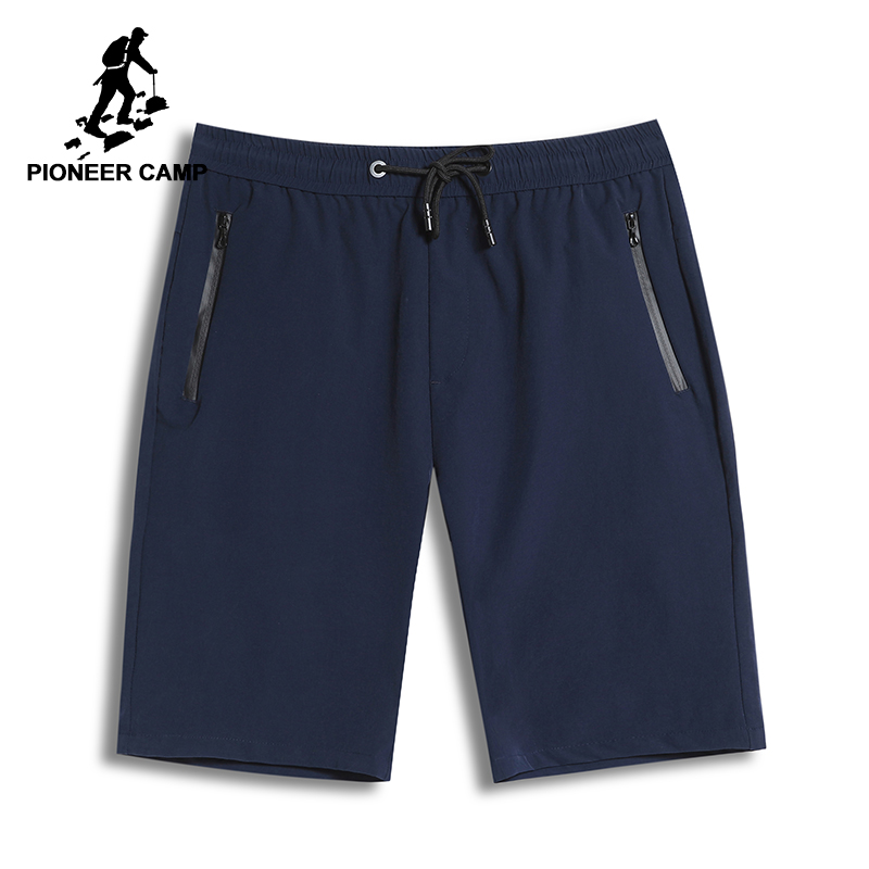 Pioneer Camp New Quick Drying Shorts Men Brand Clothing Casual Solid Mens Shorts Summer Bermuda Quality Short Pants ADK801114