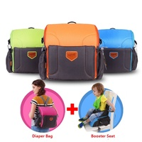 Multifunctional Large Capacity Nappy Bags Shoulders Satchel Backpack Mommy Travel Bag Articles Messenger Bags Booster Seats