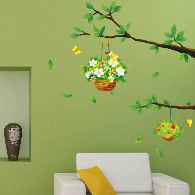 removable wall stickers living room corner wall wallpaperation